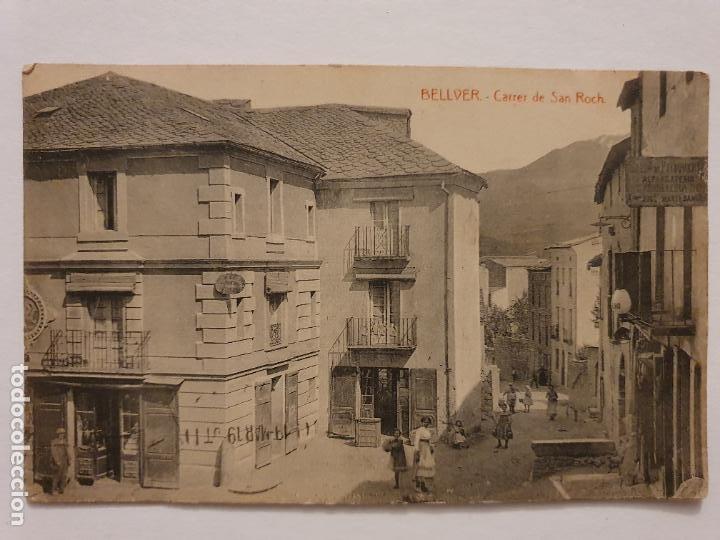 BELLVER DE CERDANYA - CARRER DE SANT ROC - A.T.V. - LCC - P46745 (Postales - España - Cataluña Antigua (hasta 1939))