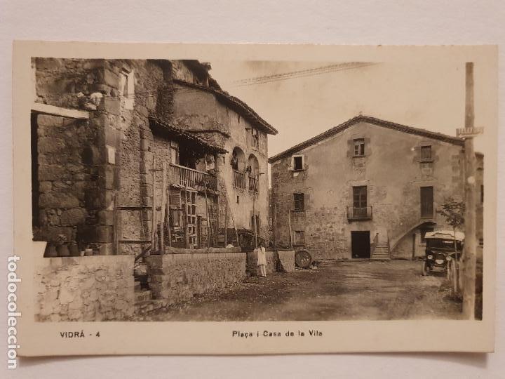 VIDRÀ - PLAÇA I CASA DE LA VILA - LCC - P46747 (Postales - España - Cataluña Antigua (hasta 1939))