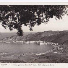 Postales: GIRONA, PORT DE LA SELVA VISTA DESDE CAMÍ ST. PERE DE RODA. ED. LLENSA. Nº 1. SIN CIRCULAR. Lote 243657265