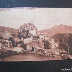 Postales: CAMPRODON-LA ROCA-SELLO REPUBLICA-CENSURA MILITAR VIVA FRANCO-POSTAL ANTIGUA-(77.696). Lote 243663360