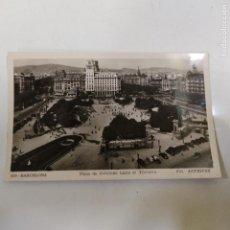 Postales: POSTAL PLAZA DE CATALUÑA HACIA EL TIBIDABO (938/21). Lote 243800920
