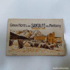 Postales: POSTAL GRAN HOTEL DE SANTA FE DEL MONTSENY 12 VISTAS AZUL (945/21). Lote 243807760