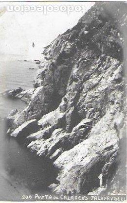 P-12356. POSTAL PUNTA DE CALAGENS, PALAFRUGELL. 206. (Postales - España - Cataluña Antigua (hasta 1939))