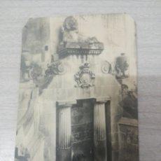 Postales: POSTAL CALDAS DE MONTBUI FUENTE TERMAL EL LEON. Lote 243870140