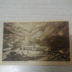 Postales: POSTAL DE NURIA PIRINEO ORIENTAL VISTA GENERAL. Lote 243872700