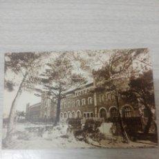 Postales: POSTAL DEL COLEGIO SALESIANO DE SAN JUAN BOSCO BARCELONA FACHADA DESDE EL PINAR. Lote 243873470