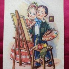 Postales: POSTAL CON DIBUJO Y REFRAN N 5. Lote 243922385