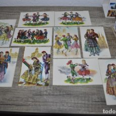 Postales: POSTALES TEMÁTICA CATALANA, SARDANA, MONTSERRAT, ETC.... Lote 243923810