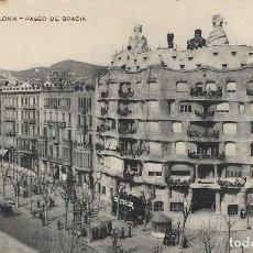 Postales: POSTAL ANTIGUA DE CASA MILÁ (LA PEDRERA). BARCELONA 1912. Lote 243927975