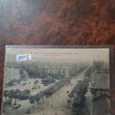 Postales: POSTAL DE BARCELONA, CALLE DE CORTES. Lote 243930235