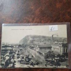 Postales: POSTAL DE BARCELONA, ADUANA Y MONTJUICH. Lote 243930250