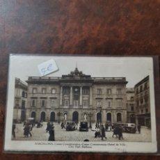 Postales: POSTAL DE BARCELONA, CASAS CONSISTORIALES. Lote 243930365
