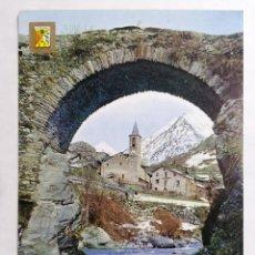 Postales: POSTAL LLEIDA, PIRINEO CATALAN, VISTA GENERAL, AÑOS 70. Lote 244466530