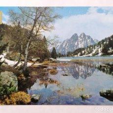 Postales: POSTAL LLEIDA, PIRINEO CATALAN, VISTA GENERAL, AÑOS 70. Lote 244466565