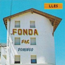 Cartoline: LES (LLEIDA) FONDA BAR DOMINGO – ALBO Nº1209/E – S/C. Lote 244468815