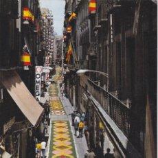 Cartoline: LLEIDA, CALLE MAYOR, FESTIVIDAD DEL CORPUS – ESCUDO DE ORO – S/C. Lote 244472800