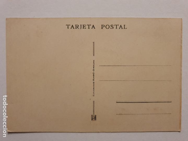 Postales: MARE DE DÉU DE MONTSERRAT - CINCUENTENARIO DE FÁBRICAS MARQUÉS - ROMERÍA A MONTSERRAT 1928 - P44452 - Foto 2 - 244625280