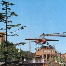 Postales: M01048 BARCELONA TIBIDABO AVION 1962 LUX Nº731 SC. Lote 244634355