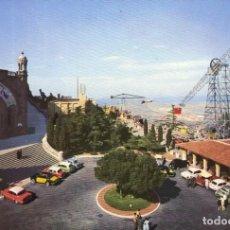 Postales: M01050 BARCELONA TIBIDABO CUMBRE CON ATRACCIONES 1961 RO Nº143 SC SEAT 600 GORDINI. Lote 244634580