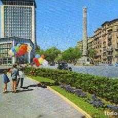 Postales: M01087 BARCELONA EL TRAMO FINAL DEL PASEO DE GRACIA 1960 UBACH Nº576 SC CITROEN TRACTION AVANT. Lote 244639515