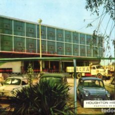 Postales: M01093 BARCELONA HOUGHTON HISPANIA 1963 Pº ZONA FRANCA 61 SC SEAT 600 CAMIONES. Lote 244640215