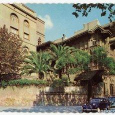 Postales: M01100 BARCELONA COLEGIO PRESENTACION FACHADA 1965 VALMAN NºE360 SC CITROEN TRACTION AVANT RENAULT 4. Lote 244641040