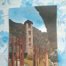 Postales: POSTAL VALLS D ANDORRA, SANTA COLOMA IGLESIA ROMANICA. Lote 244668760