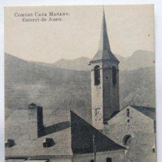 Postales: ESTERRI DE ANEU COMERS CASA MASANO. Lote 244787455