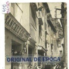 Postales: (PS-64565)POSTAL FOTOGRAFICA DE CERVERA-CALLE MAYOR DE STA.ANA.ALMACENES SANCHEZ GIL. Lote 244806225