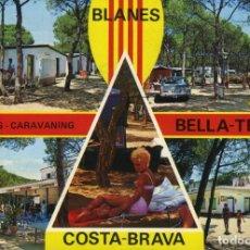 Postales: M01230 BLANES CAMPING BELLA TERRA 1978 PERGAMINO Nº695 CIRCULADA. Lote 244815425