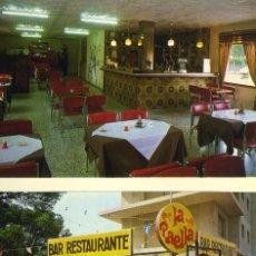 Postales: M01233 BLANES BAR RESTAURANTE SANTI 1981 MARTINEZ SC. Lote 244816235