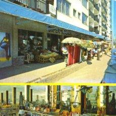 Postales: M01248 BLANES SUPERMERCADO SANTA MARTA 1970 ZERKOWITZ CIRCULADA FALTA SELLO. Lote 244820810
