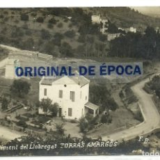 Postales: (PS-64567)POSTAL FOTOGRAFICA DE SAN CLIMENT DE LLOBREGAT-TORRAS AMARGOS. Lote 244884515