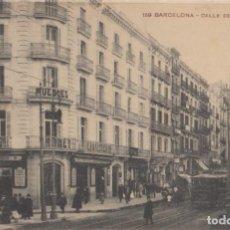 Postales: (42) POSTAL BARCELONA - 159 CALLE PELAYO - MISSÉ HNOS - ANIMADA - NUEVA SIN CIRCULAR. Lote 244917705