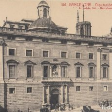 Postales: (43) POSTAL BARCELONA - 106 DIPUTACIÓN PROVINCIAL - L.ROISIN - ANIMADA - NUEVA SIN CIRCULAR. Lote 244917910