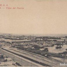 Postales: (76) POSTAL BARCELONA - R.S.A. VISTA DEL PUERTO - ROVIRA S.A. - SIN CIRCULAR. Lote 244935715