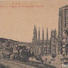 Postales: (79) POSTAL BARCELONA - R.S.A. TEMPLO SAGRADA FAMILIA - ROVIRA S.A. - SIN CIRCULAR. Lote 244936175