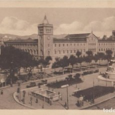 Postales: (81) POSTAL BARCELONA - PZA. UNIVERSIDAD Y MONUMENTO AL DTR. ROBERT - ANIMADA - SIN CIRCULAR. Lote 244936485