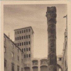 Postales: (82) POSTAL BARCELONA - COLUMNA DE HÉRCULES EN LA PZA. DEL REY - J.ARTIGUES - SIN CIRCULAR. Lote 244936650