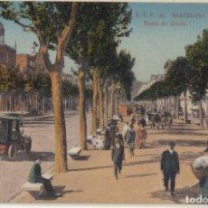 Postales: (204) POSTAL BARCELONA - A.T.V. 31 PASEO DE GRACIA - TOLDRÁ - ANIMADA - SIN CIRCULAR. Lote 244951745