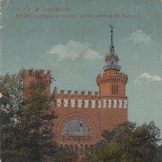 Postales: (214) POSTAL BARCELONA - A.T.V. 35 ESCUELA MÚSICA, JARDÍN ARTÍSTICO - TOLDRÁ - SIN CIRCULAR. Lote 244952085