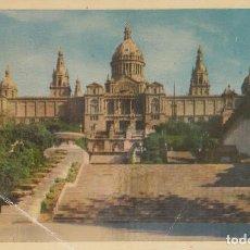 Postales: (215) POSTAL BARCELONA - PALACIO NACIONAL DE MONRJUICH - HELIOTIPIA ARTÍSTICA ESPAÑOL - SIN CIRCULAR. Lote 244952130