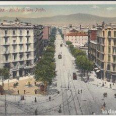 Postales: (220) POSTAL BARCELONA - 65 RONDA DE SAN PABLO - JORGE VENINI - ANIMADA - SIN CIRCULAR. Lote 244952305