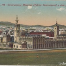 Postales: (228) POSTAL BARCELONA - 106 CONTRUC. MODERNAS FABRICA CASARRAMONA - JORGE VENINI - SIN CIRCULAR. Lote 244952555