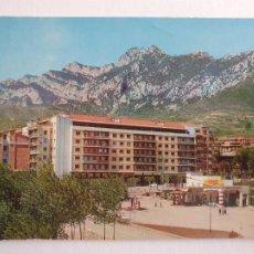 Postais: BERGA - ENTRADA PEL PASSEIG DE LA PAU - GASOLINERA - P47161. Lote 245020785