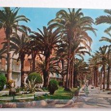 Cartoline: BADALONA - RAMBLA / PASEO DEL CAUDILLO - P47170. Lote 245022020