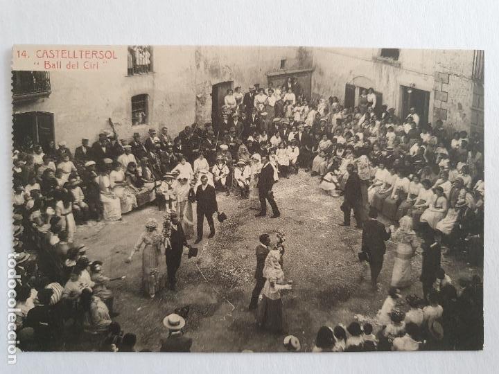 CASTELLTERÇOL - BALL DEL CIRI - P47206 (Postales - España - Cataluña Antigua (hasta 1939))