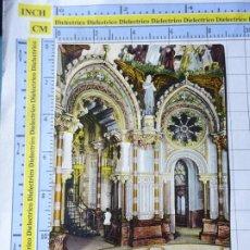Postales: POSTAL DE BARCELONA. SIGLO XIX - 1905. MONTSERRAT CAMARÍN DE LA VIRGEN. 65 PUJADAS. 3606. Lote 245129230