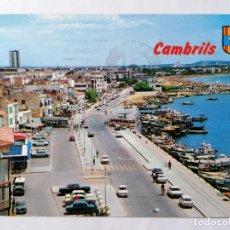 Postales: POSTAL CAMBRILS, EL PUERTO, COSTA DORADA, AÑOS 70. Lote 245356550