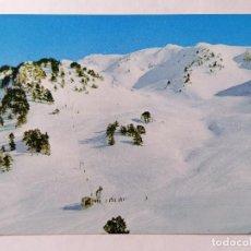 Postales: POSTAL BAQUEIRA - BERET, ALTO ARAN, PISTA NEGRA, AÑOS 60. Lote 245358070